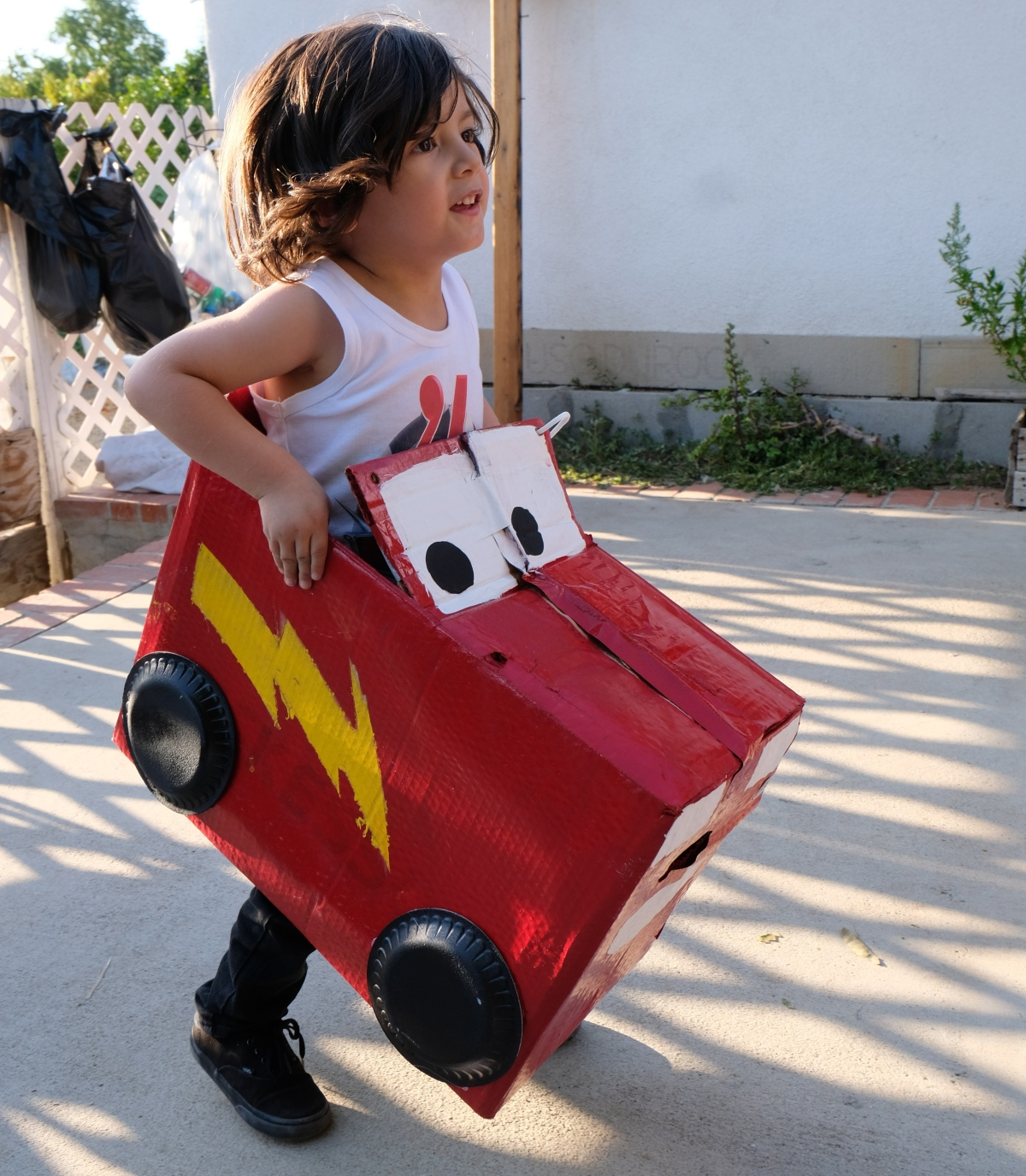 DIY Disney Cardboard Cars